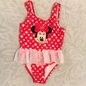 Minnie Mouse swimsuit * 24m